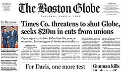 Boston Globe Subscription - Lowest prices on newspaper delivery