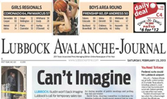 Lubbock avalanche journal jobs
